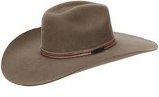 Chapéu de Feltro Aba Larga Texas Diamond Castor 21022