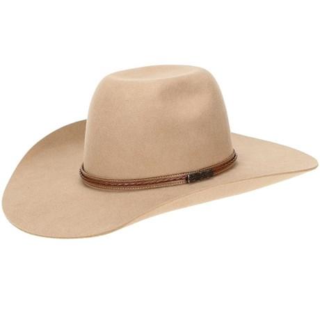 Chapéu de Feltro Bege Texas Diamond 20828