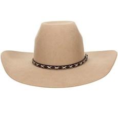 Chapéu de Feltro Bege Texas Diamond Copa Alta 20831