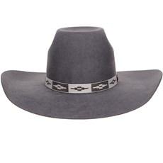 Chapéu de Feltro Cinza Texas Diamond 20783