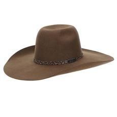 Chapéu de Feltro Copa Alta 30X Marrom Texas Diamond 22801