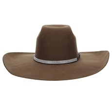 Chapéu de Feltro Copa Alta 30X Marrom Texas Diamond 22802