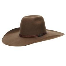 Chapéu de Feltro Copa Alta 30X Marrom Texas Diamond 22805
