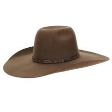Chapéu de Feltro Copa Alta 30X Marrom Texas Diamond 22806