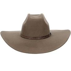 Chapéu de Feltro Copa Quadrada Aba Larga Texas Diamond 21023