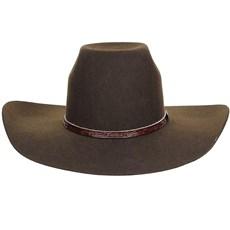 Chapéu de Feltro Cowboy Marrom Texas Diamond 20776