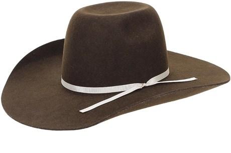 Chapéu de Feltro Cowboy Marrom Texas Diamond 21128