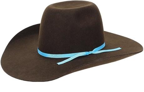 Chapéu de Feltro Cowboy Marrom Texas Diamond 21131