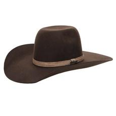 Chapéu de Feltro Cowboy Marrom Texas Diamond 26269