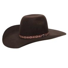 Chapéu de Feltro Cowboy Marrom Texas Diamond 26270
