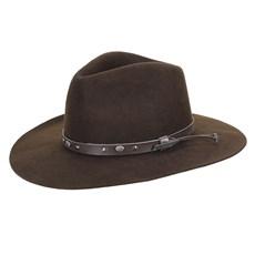 Chapéu de Feltro Fedora Marrom Texas Diamond 29868