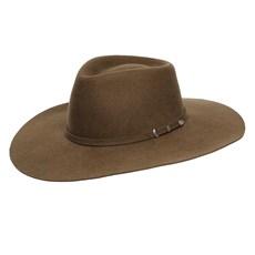 Chapéu de Feltro Marrom 5x Campo III Pralana 24909