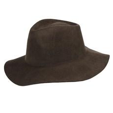 Chapéu de Feltro Marrom Cavalgada Tamanho Único Marcatto 24280