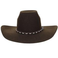 Chapéu de Feltro Marrom Copa Alta Texas Diamond 20836