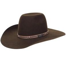 Chapéu de Feltro Marrom Copa Alta Texas Diamond 20837
