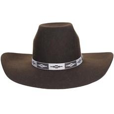 Chapéu de Feltro Marrom Texas Diamond 20778