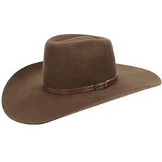 Chapéu de Feltro Marrom Texas Diamond Copa Alta 21007