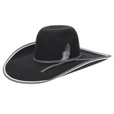Chapéu de Feltro Pralana Preto Aba Larga 30X 23439