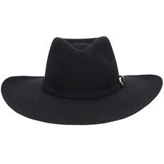 Chapéu de Feltro Pralana Preto Forrado 21823