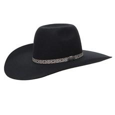 Chapéu de Feltro Preto Texas Diamond 26287
