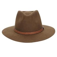 Chapéu de Feltro Social Marrom Texas Diamond 23031