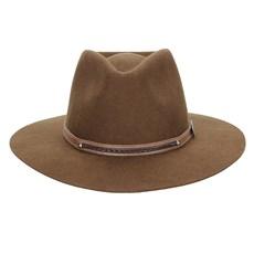 Chapéu de Feltro Social Marrom Texas Diamond 23033