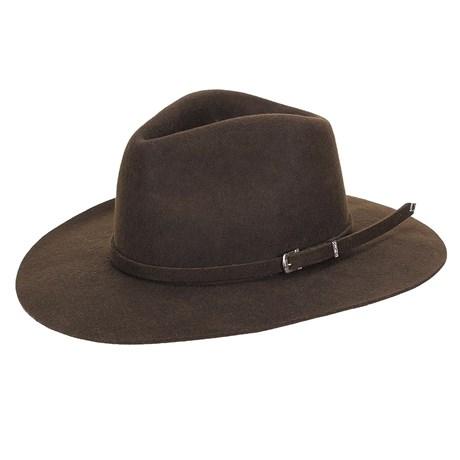 Chapéu de Feltro Social Marrom Texas Diamond 23198