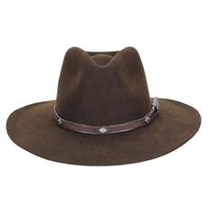 Chapéu de Feltro Social Marrom Texas Diamond 23199