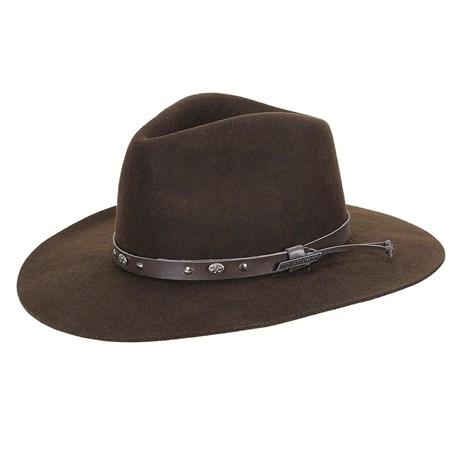 Chapéu de Feltro Social Marrom Texas Diamond 23200