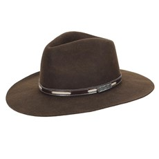 Chapéu de Feltro Social Marrom Texas Diamond 23201