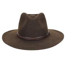 Chapéu de Feltro Social Marrom Texas Diamond 23203