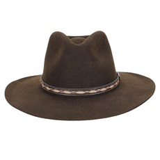 Chapéu de Feltro Social Marrom Texas Diamond 23204