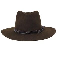Chapéu de Feltro Social Marrom Texas Diamond 24144