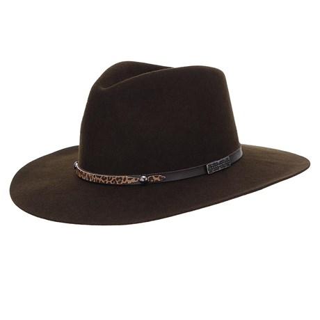 Chapéu de Feltro Social Marrom Texas Diamond 24497