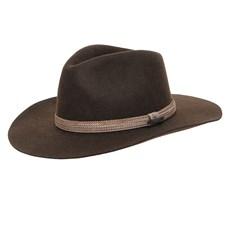 Chapéu de Feltro Social Marrom Texas Diamond 26298