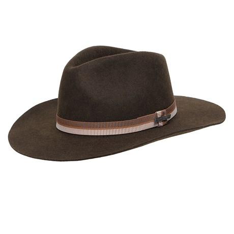 Chapéu de Feltro Social Marrom Texas Diamond 26299