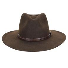 Chapéu de Feltro Social Marrom Texas Diamond 29866