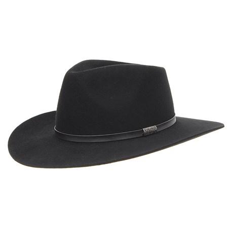 Chapéu de Feltro Stetson 3X Preto 29177