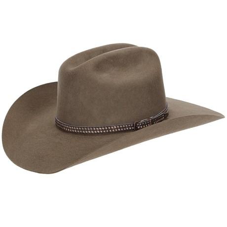 Chapéu de Feltro Texas Diamond Americano Castor 21035
