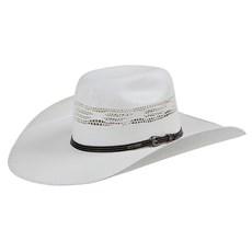 Chapéu de Palha Bangora Stetson Aba Larga Branco 24421