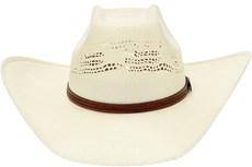 Chapéu de Palha Bangora Texas Diamond Copa Quadrada 20802