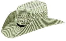 Chapéu de Palha Infantil 10X Bicolor Green - Eldorado Company 18290