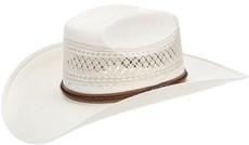 Chapéu de Palha Shantung 20X Copa Quadrada Texas Diamond 21435