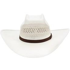 ... Chapéu de Palha Shantung 20X Copa Quadrada Texas Diamond 21441 bc4093f470e
