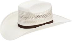 Chapéu de Palha Shantung 20X Copa Quadrada Texas Diamond 21441