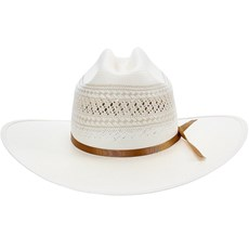 Chapéu de Palha Shantung 20X Rendado Texas Diamond 21422