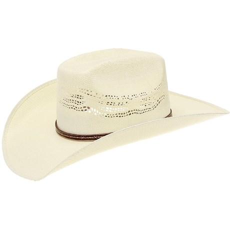 Chapéu de Palha Texas Diamond Copa Quadrada 20801