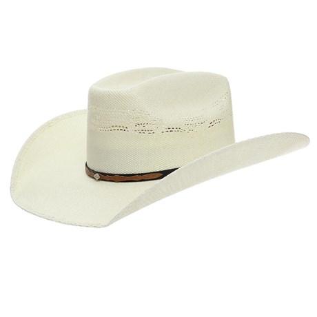 Chapéu de Palha Texas Diamond Copa Quadrada 24366
