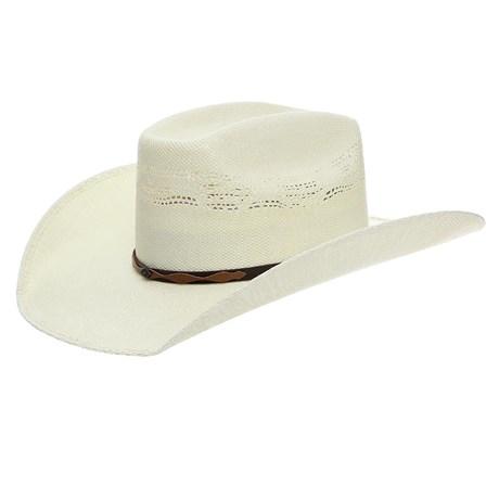 Chapéu de Palha Texas Diamond Copa Quadrada 24368