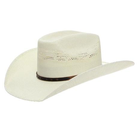 Chapéu de Palha Texas Diamond Copa Quadrada 24371